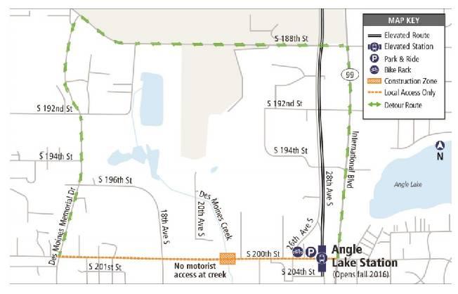 Angle Lake Shore Club: Notable Neighborhood Notices