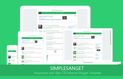 Simple Sanget Tema Blogger Tersimple
