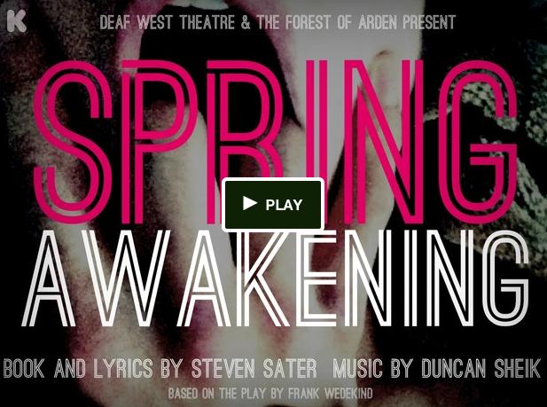 "Deaf West Presents ""Spring Awakening"""