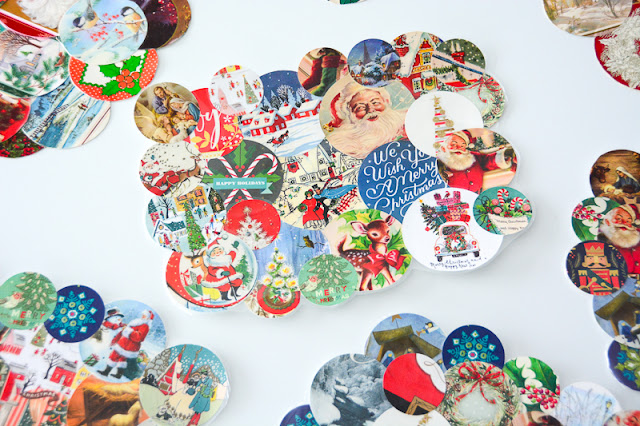 Aesthetic nest 2017 crafting holiday card placemats diy have you found a use for that beautiful stack of christmas cards it seems such a shame to throw them away solutioingenieria Choice Image