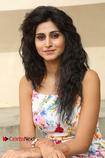 Actress Shamili Stills in Floral Short Dress at Sree Ramaraksha Song Launch 0097
