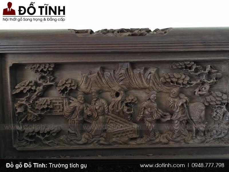 Trường tích gụ mật cũ - Bộ sưu tập trường kỷ gỗ đẹp 2017