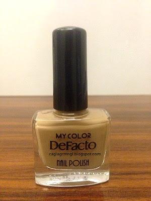 Defacto- My color Nail Polish Oje