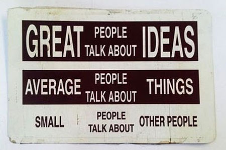 people talk