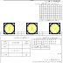 النموذج السادس للإختبار و الفرض الكتابي الأول 1 في مادة الرياضيات - مستوى السنة الثانية إبتدائي خلال الأسدس / الدورة الأولى