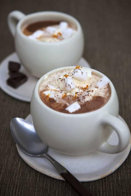 Spiced Hot Chocolate: Autumn Winter Warmer