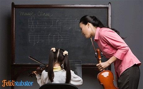 Seorang Guru Musik yang Baik