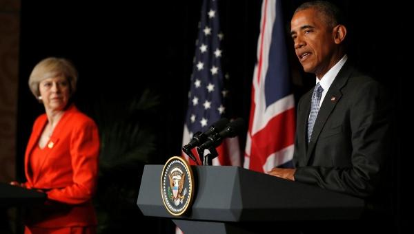 """Obama revalida """"relación especial"""" entre EE.UU. y Reino Unido"""