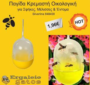 ΣΟΚ: Κυκλοφορούν στο εμπόριο παγίδες για μέλισσες