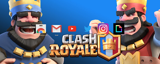 Clash Royale Kings SUPERCELL Theme FOR Chrome