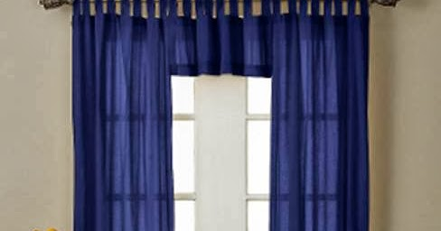 How To Make Tab Top Curtains Curtains Design