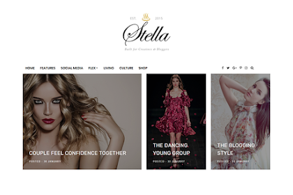 Download Beautytemplates Stella a Clean & Personal Blogger Template Premium Gratis