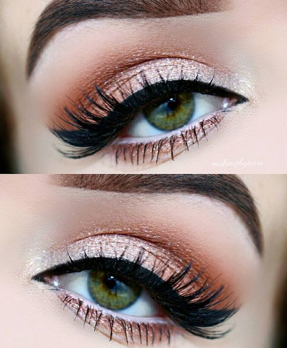 21 Gorgeous Peach Eye Shadow Looks You Have To Try