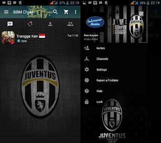 BBM Mod Juventus F.C Transparan V3.2.3.11 Apk