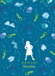 Matilda by Roald Dahl with illustrations by Quentin Blake