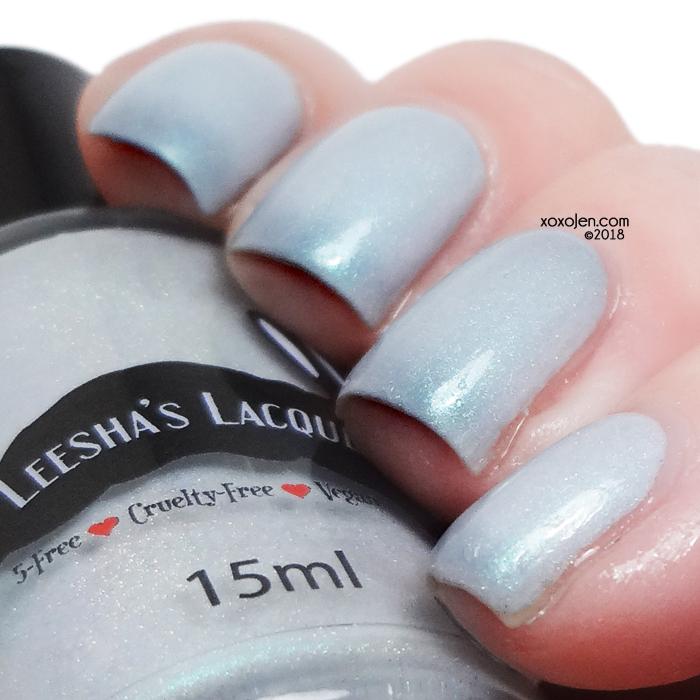 xoxoJen's swatch of Leesha's Lacquer Azurite