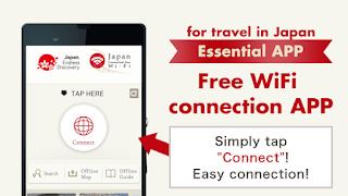 Aplikasi Wifi Gratis Untuk Traveling Ke Jepang