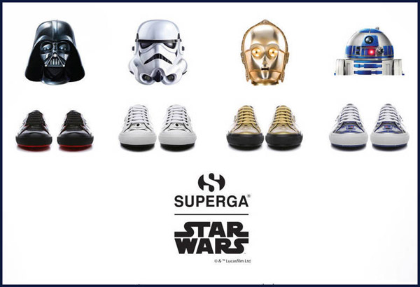 zapatillas Star Wars de Superga