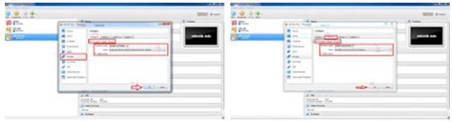 Mengatur jaringan mikrotik VirtualBox
