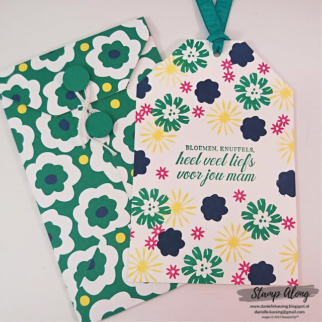 Stampin' Up! Bloom by Bloom, Happiness Blooms DSP