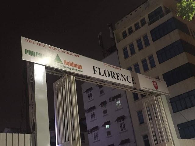 Tiến độ thi công dự án Florence 28 Trần Hữu Dực
