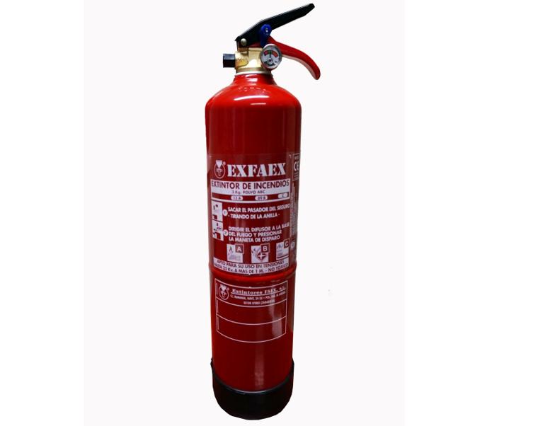 Extintores en madrid, exfire, paracuellos de jarama