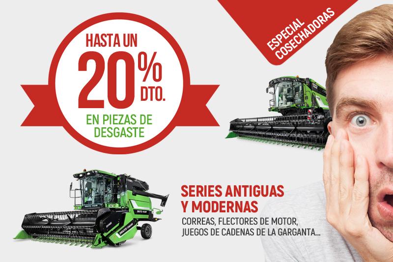 Ofertas en piezas de desgaste para tractores Deutz Fahr