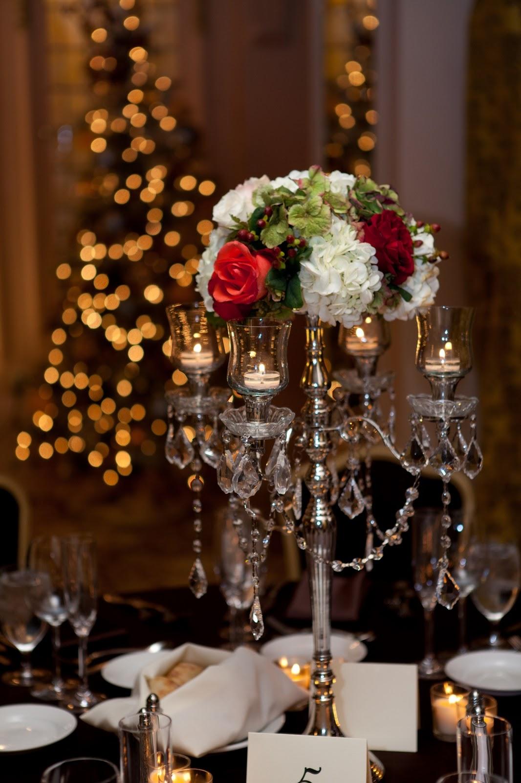 Flora Nova Design  The Blog A Romantic December Wedding
