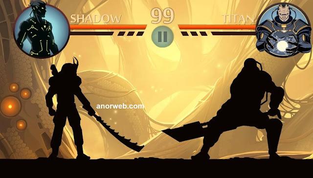 تحميل لعبة Shadow Fight 2 مهكرة للاندرويد أخر إصدار