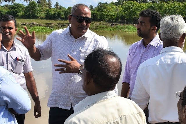 Addaichenai Sampukkalappu Drainage system will complete in soon ; ALM. Nazeer M.P