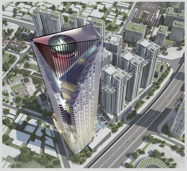 Vị trí chung cư tháp doanh nhân - Boss Tower