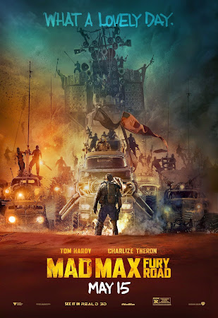 Poster Of Free Download Mad Max Fury Road 2015 300MB Full Movie Hindi Dubbed 720P Bluray HD HEVC Small Size Pc Movie Only At worldfree4u.com