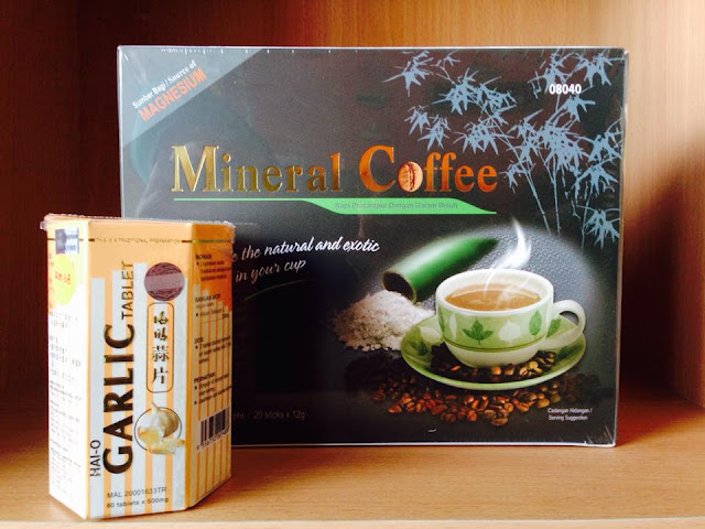 Garlic dan Mineral Coffee