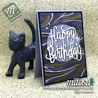 Stampin' Up! Marbled Background Card Idea. Order Cardmaking Products from Mitosu Crafts UK Online Shop
