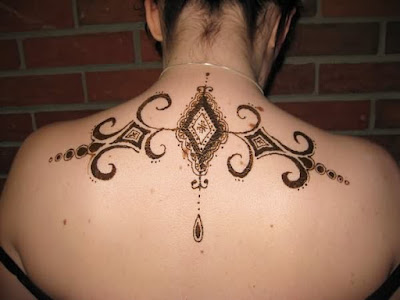 Best Neckback Tattoos and Design For Girl