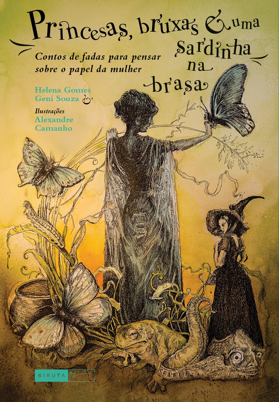 Livros Da Helena Gomes 41 Princesas Bruxas E Uma Sardinha Na