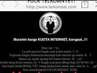 Situs Telkomsel diretas, Hacker keluhkan Harga paket Internet kemahalan