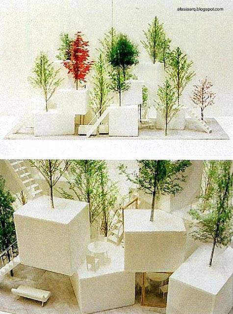 Maqueta del proyecto de casa conceptual