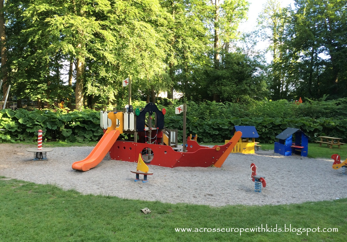 Playgrounds at Egeskov Slot