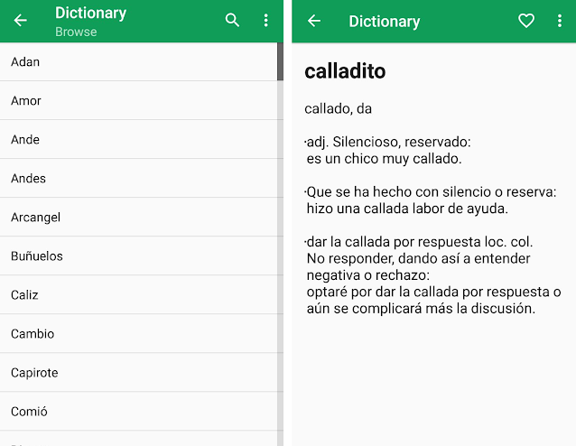 Diccionario Español (EasyGoing)