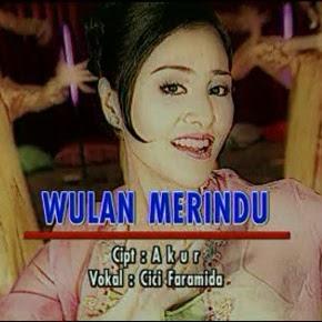 Cici Faramida - Wulan Merindu ( Karaoke )