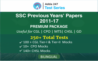 SSC Previous Years