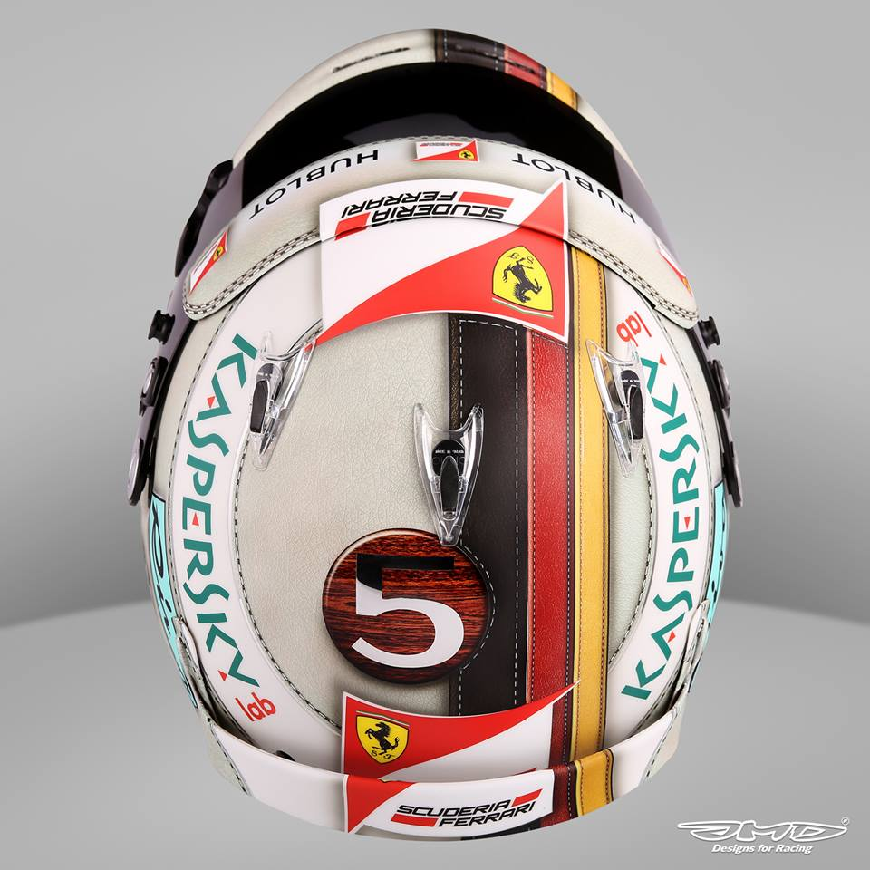 Helm 37 arai gp 6 s vettel monaco 2016 by jens munser designs for Helm design