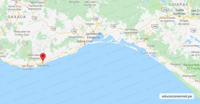 Temblor en México de Magnitud 4.2 (Hoy Lunes 31 Agosto 2020) Sismo - Epicentro - Crucecita - Oaxaca - OAX. - SSN - www.ssn.unam.mx