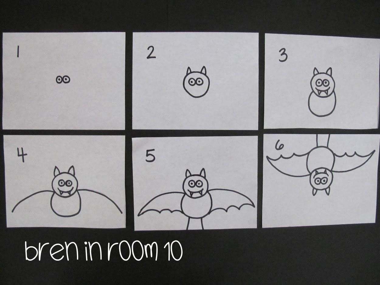 Bren In Room 10 Bat Directed Drawing Tutorial