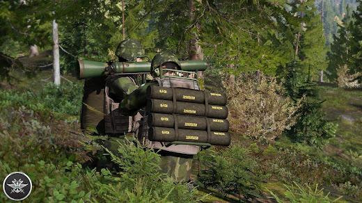 Arma3用スウェーデン軍MODのカールグスタフ無反動砲