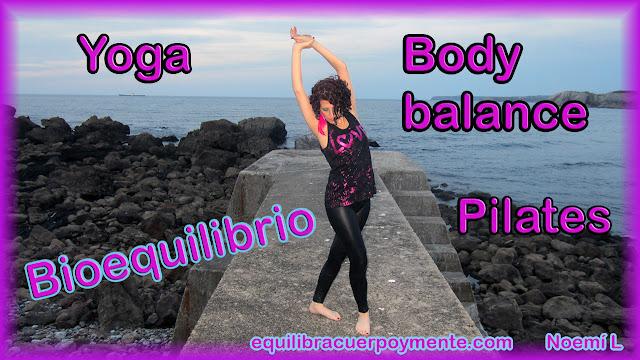 Body balance, yoga, pilates, taichi, bioequilibrio