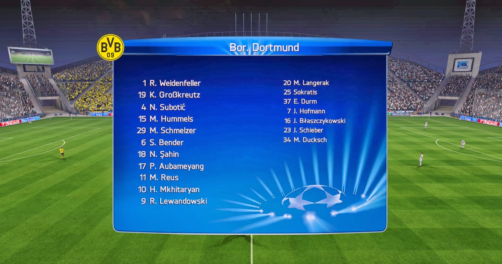 Adboards Uefa Champions League 14 15 Fifa 14 (10) - EpicGaming
