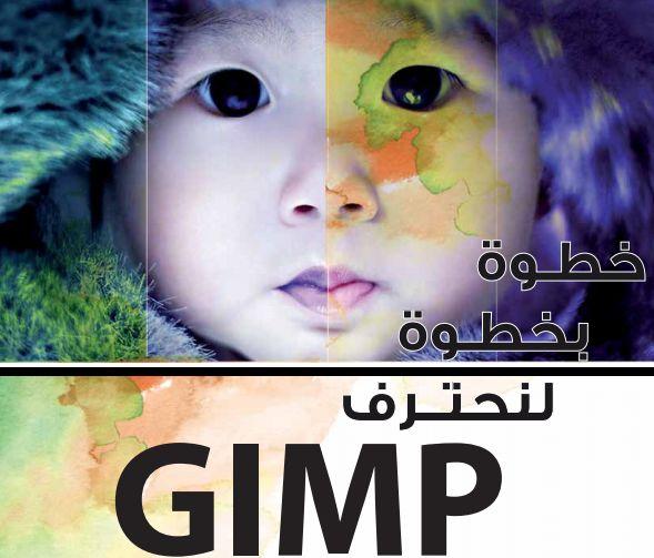 كتاب شرح برنامج gimp