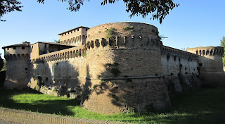 he Rocca di Ravaldino, a stronghold of Riario's power